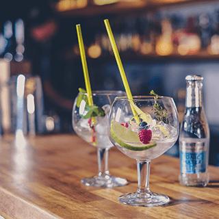 Gin or Vodka at Rocksalt