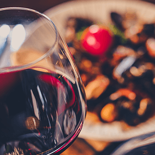 Rocksalt's High Quality Wine with Delicious Food